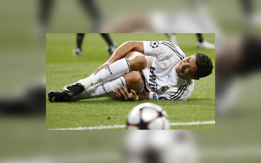 Cristiano Ronaldo trauma