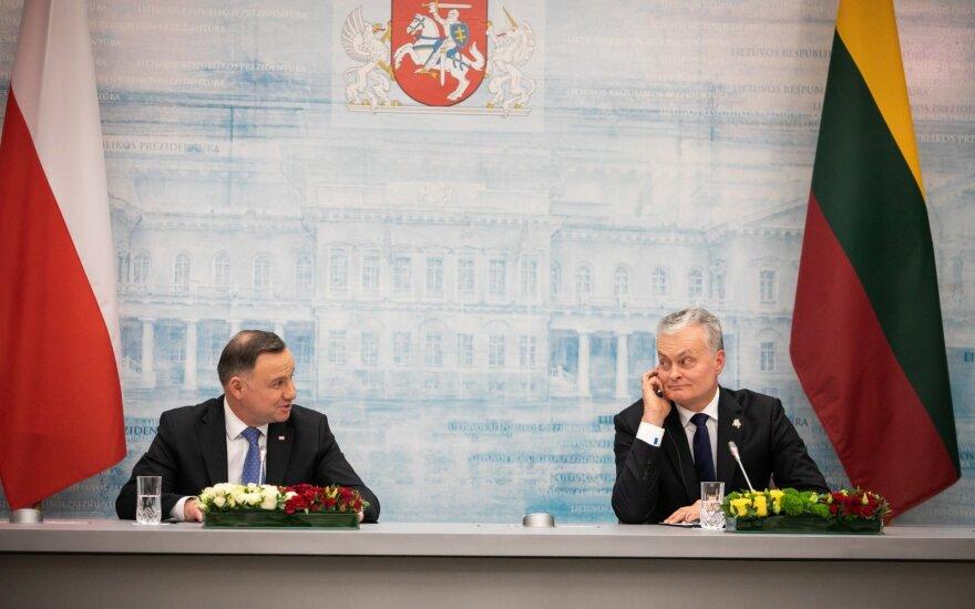 Andrzejus Duda, Gitanas Nausėda