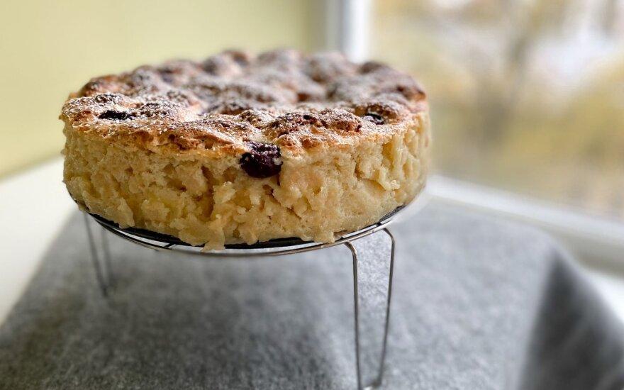 Tradicinis šeimos obuolių pyragas