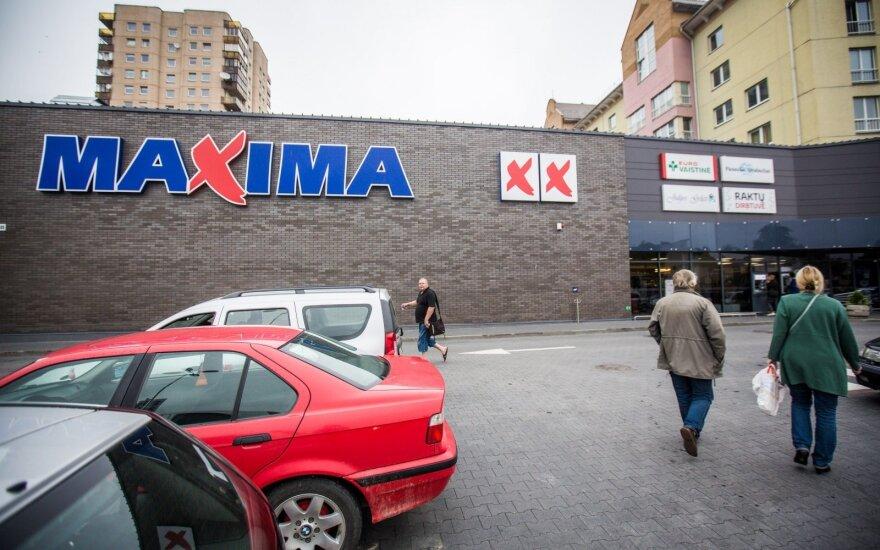 """""""Maximos"""" apyvarta Lietuvoje sumažėjo"""