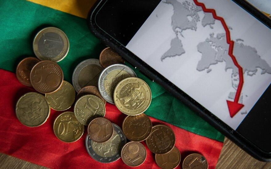 TVF: pasaulio ekonomikos perspektyvos gali būti geresnės, nei prognozuojama birželį