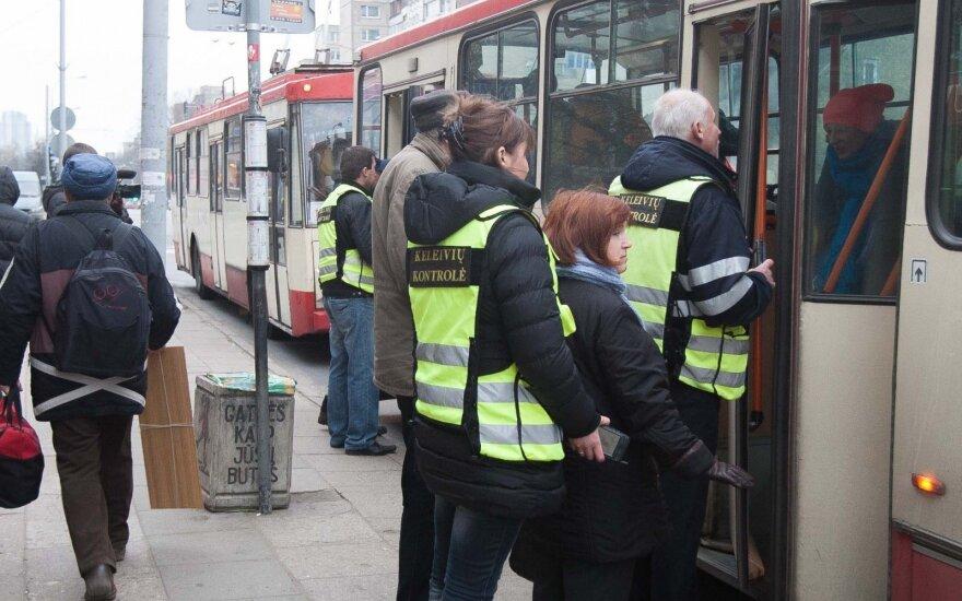Vilnius ticket inspectors to wear cameras