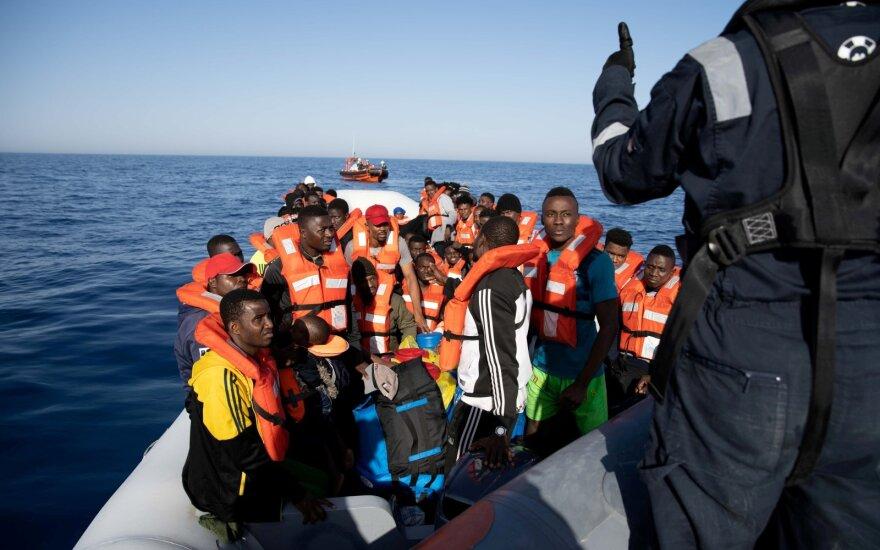 Prie Libijos krantų tikriausiai nuskendo 130 į Europą keliavusių migrantų