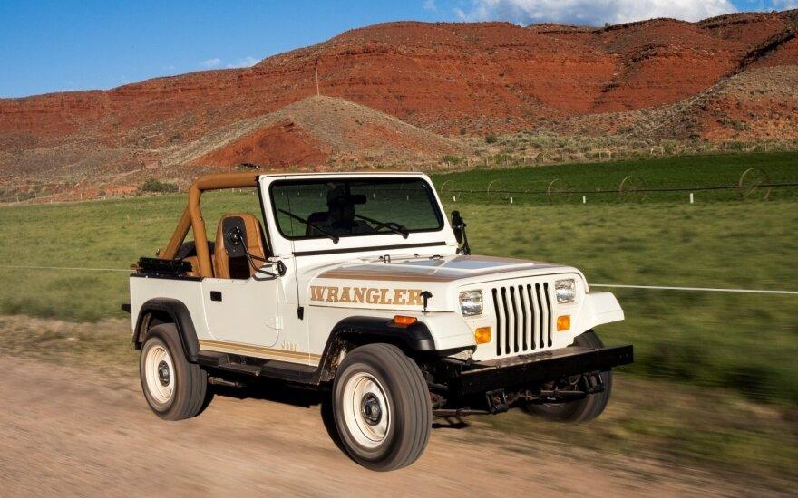 """Devintojo dešimtmečio """"Jeep Wrangler"""""""