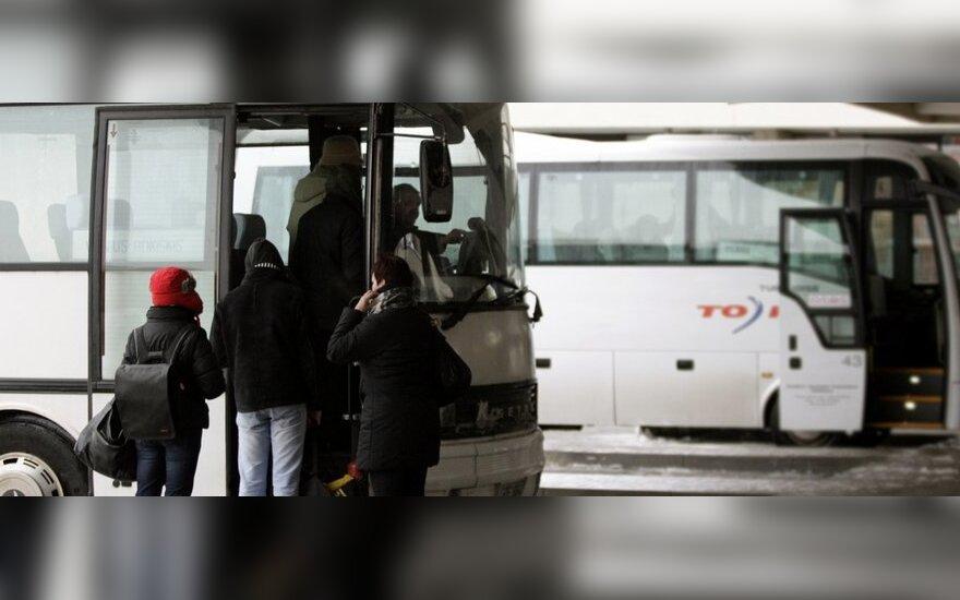 Sostinėje senamiesčio maršrutų autobusai važiuos pro stotį