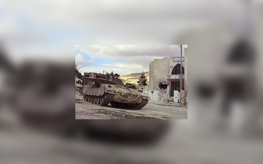 Izraelio tankas, Israel