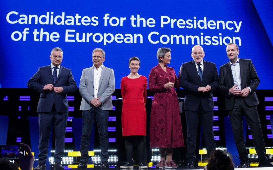EK pirmininko debatai