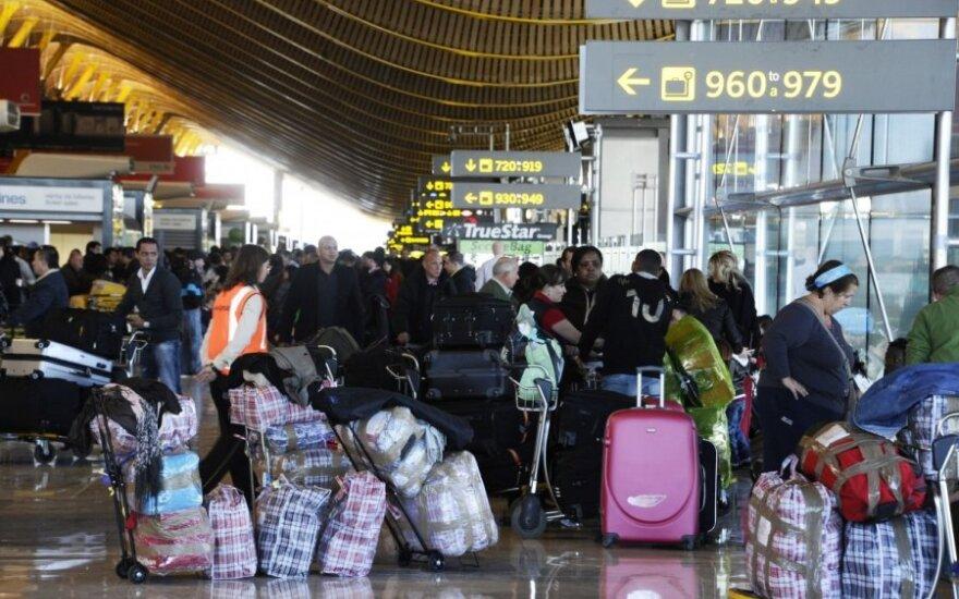 Europos aviacijos dispečeriai pradėjo dviejų dienų streiką