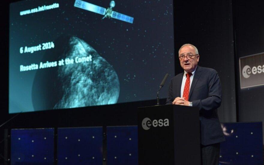 ESA Director General Jean-Jacque Dordain