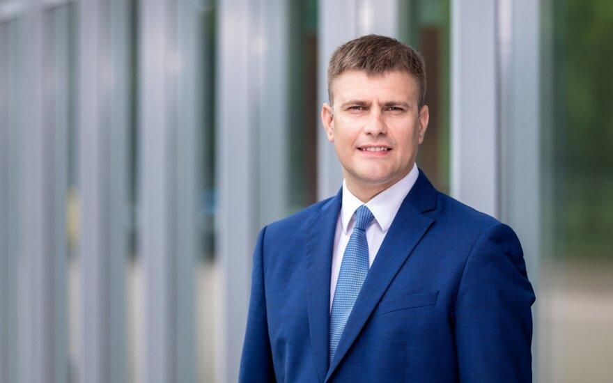 """LINPRA prezidentas, bendrovės """"PBS"""" vadovas Tomas Jaskelevičius"""