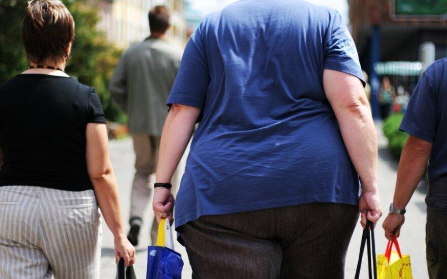 Britės - labiausiai nutukusios moterys Europoje, bet ir ne visos prancūzės - nendrelės