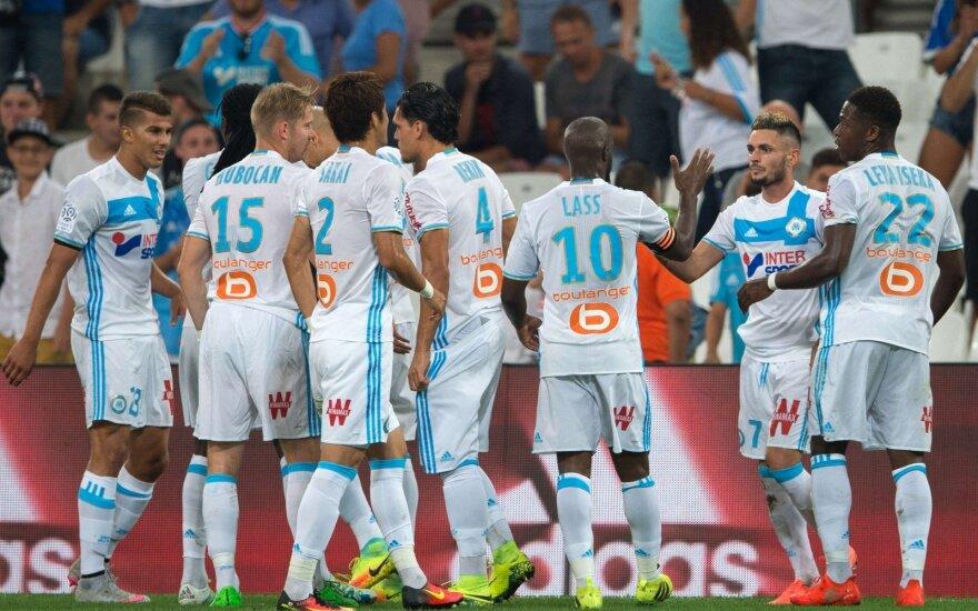 """""""Marseilles"""" futbolininkai"""