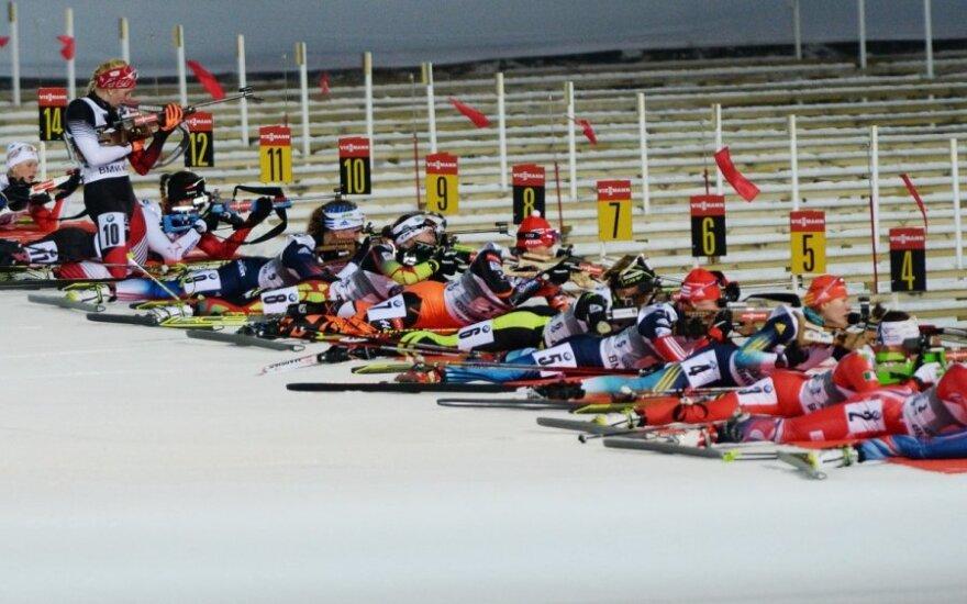 Pasaulio biatlono taurės etapas Švedijoje