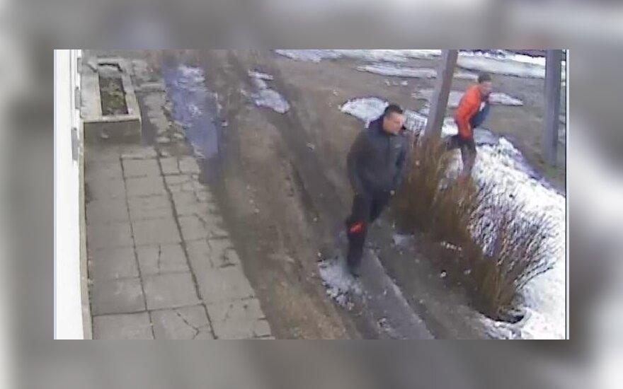 Policija prašo atpažinti vaizdo kamerų vagis