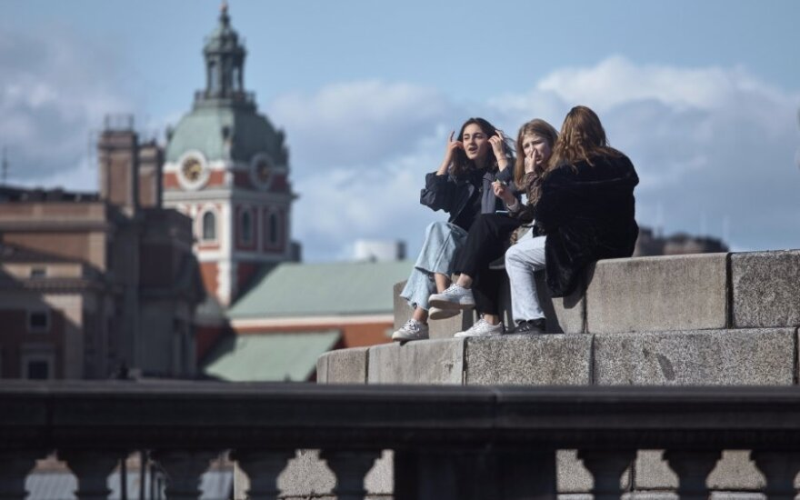 Švedija didins testavimo dėl COVID-19 apimtis