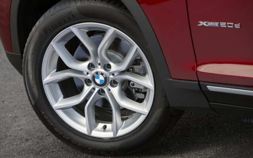 BMW X3, ratas, ratlankis