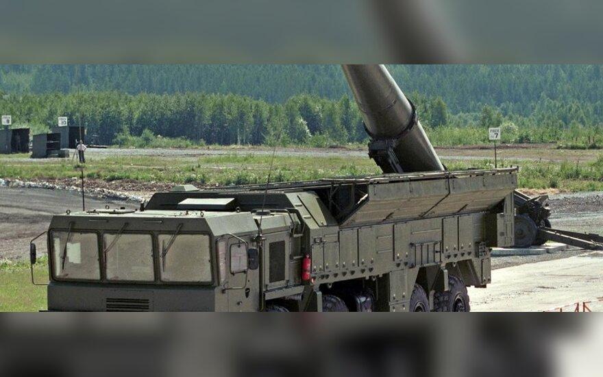 Ekspertas: Baltarusijoje gali būti dislokuota Rusijos raketų brigada