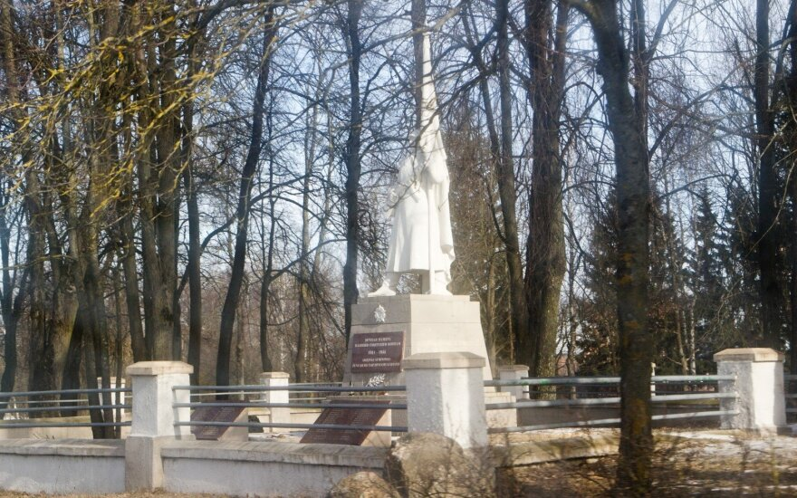 Cemetery of Soviet soldiers