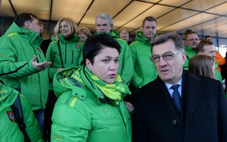 D. Gudzinevičiūtė: lietuviai Sočyje skųstis neturi kuo