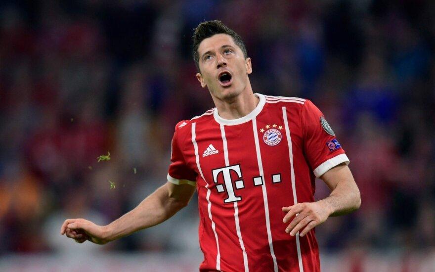 """Čempionų lyga, """"Bayern"""" - """"Real"""""""