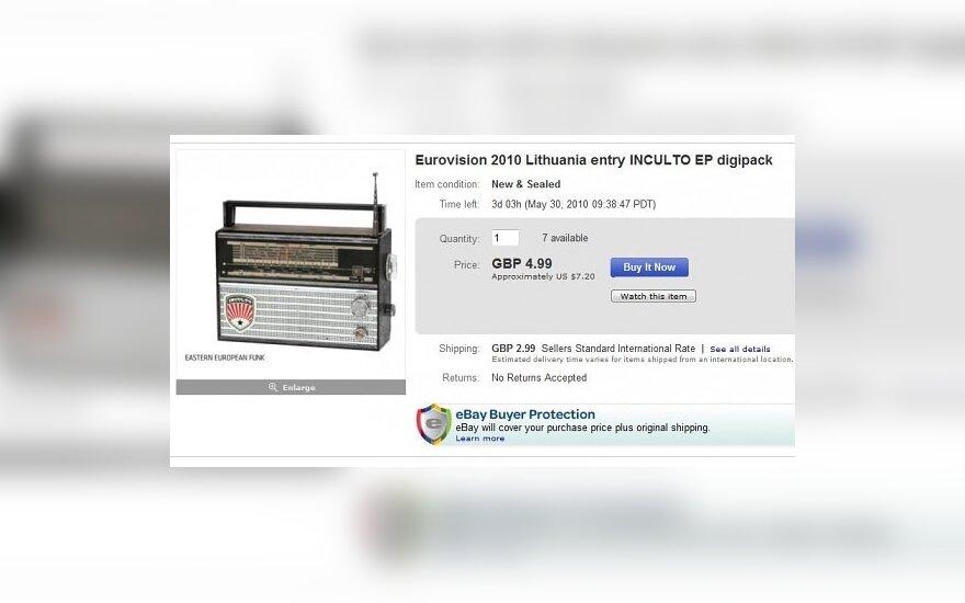 """Osle pavogti """"InCulto"""" kompaktiniai diskai parduodami aukcione"""