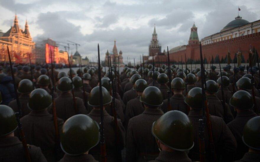 Russian military flexes muscles near Baltics