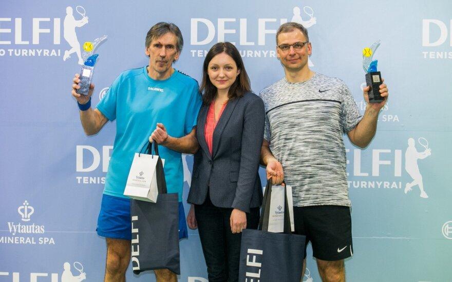 Sostinėje finišavo didžiausias Lietuvoje DELFI teniso mėgėjų turnyras