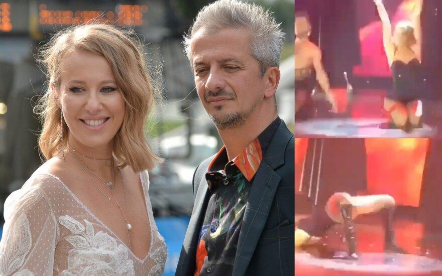 Konstantinas Bogomolovs ir Ksenija Sobčiak