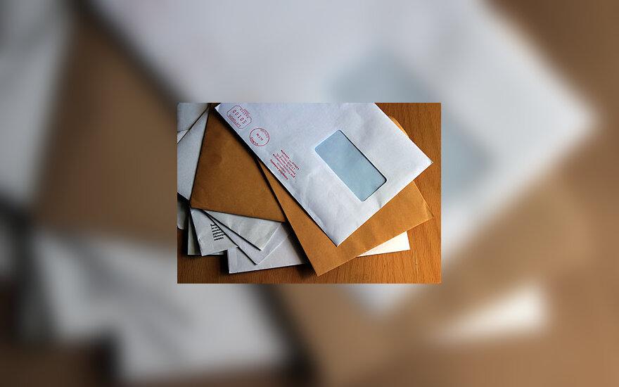 Paštas, laiškai