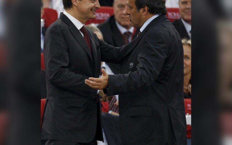 Ispanijos premjeras: dabar mes laimėsim pasaulio čempionatą