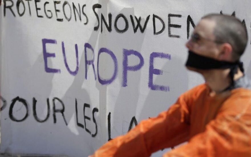 Protestas dėl E. Snowdeno