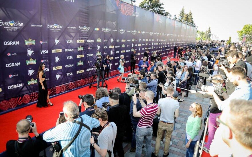 """Eurovizija 2017"" atidarymo ceremonija"