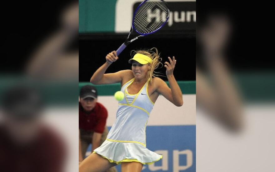 Tenisininkė Marija Šarapova.