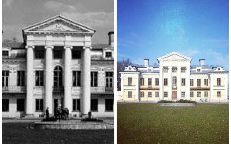 Lietuva prieš ir po: pirmosios nuotraukos