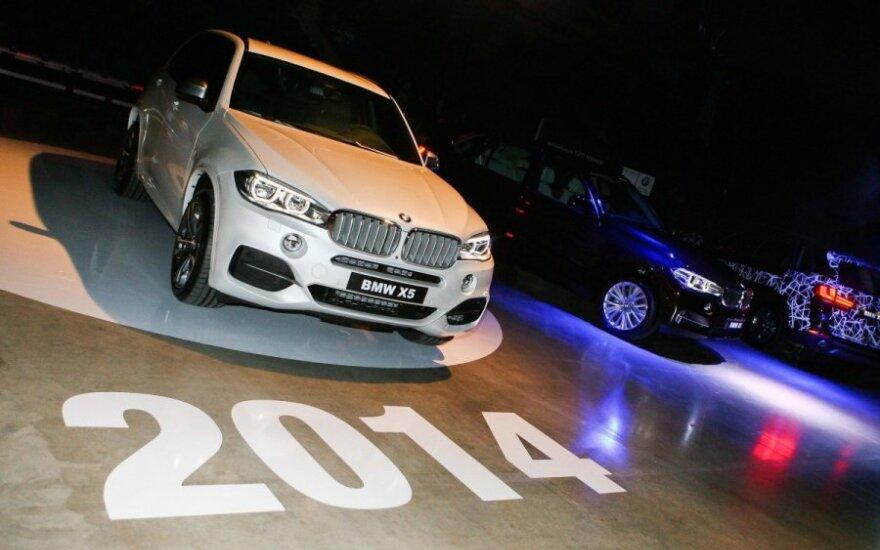 BMW X5 pristatymas
