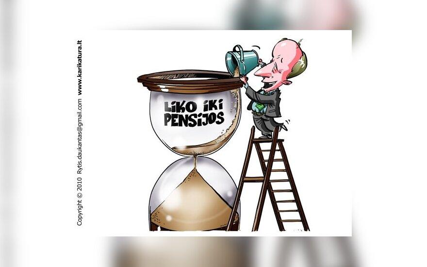 Seimas piktindamasis linksta prie pensinio amžiaus ilginimo