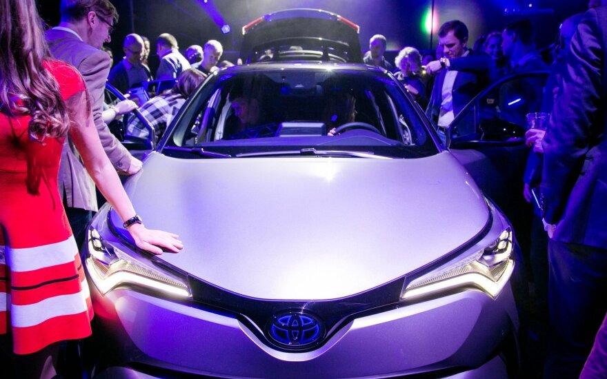 "Sostinėje pristatyta ""Toyota C-HR"""