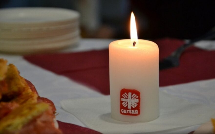 """Pirmąjį Advento sekmadienį prasidėjo akcija """"Gerumas mus vienija"""""""
