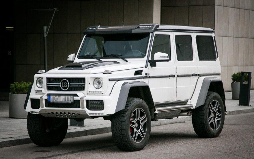 """Brabus"" patobulintas G klasės ""Mercedes-Benz"" visureigis"