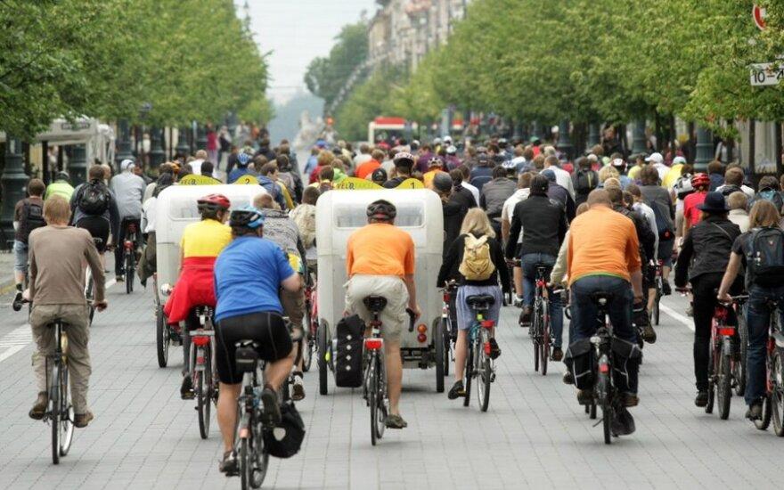 Vilnius praleido progą nutiesti pavyzdinę dviračių trasą