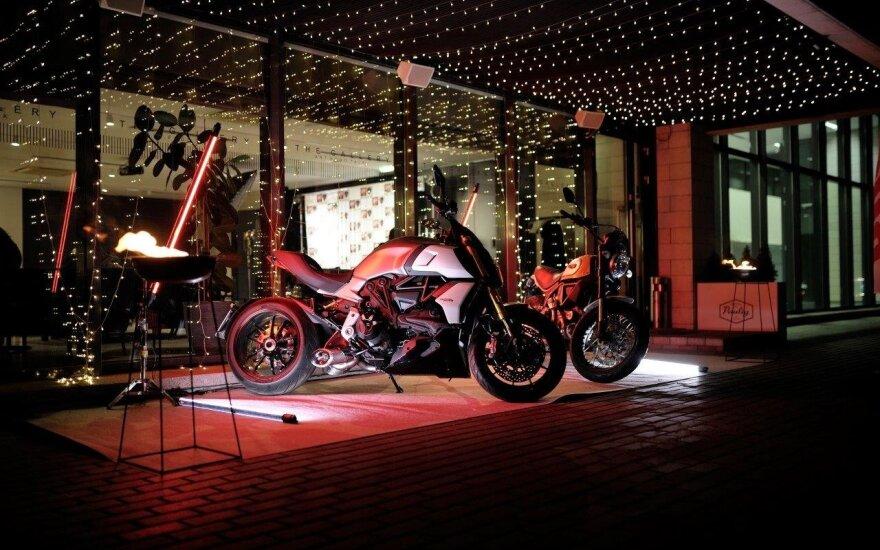 """""""Ducati"""" motociklų asociacija Lietuvoje atšventė gimtadienį"""