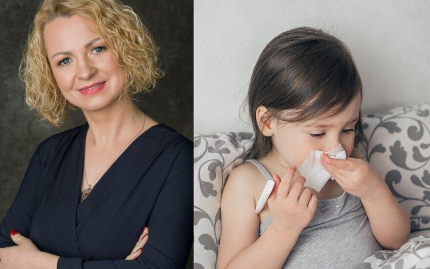 Vaikų gydytoja Indrė Plėštytė-Būtienė