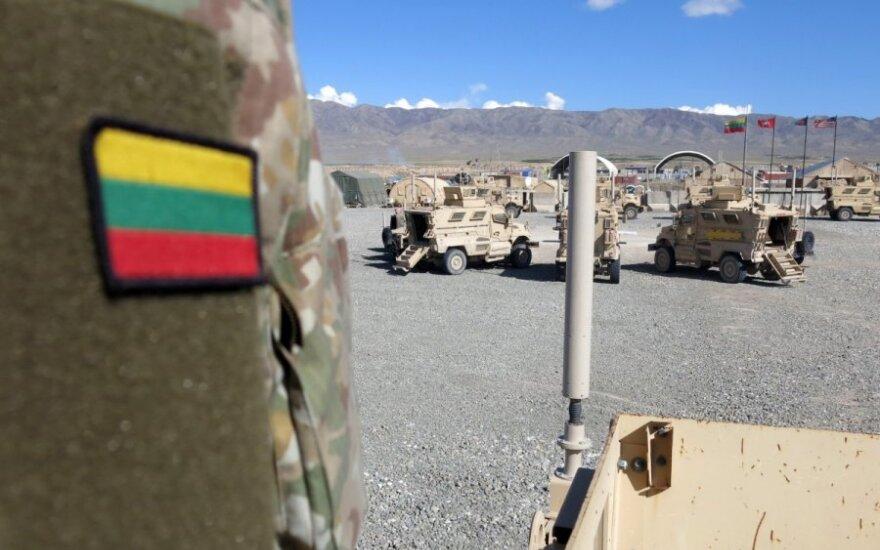 Prie NATO misijos Afganistane prisijungė Lietuvos kariai