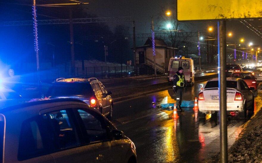 Nelaimė Kaune: automobilio partrenktas vyras žuvo vietoje