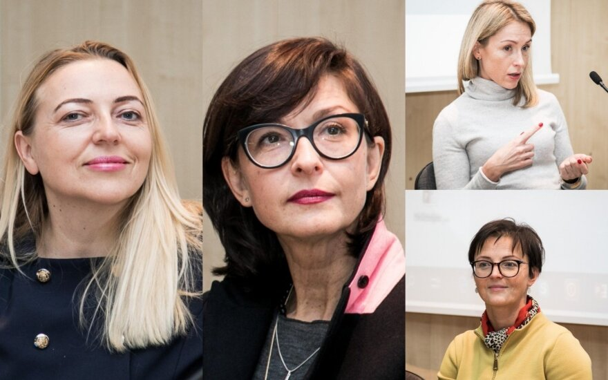 Elvyra Zalatorienė, Adrija Čepaitė, Margarita Šešelgytė, Rima Valentukevičienė
