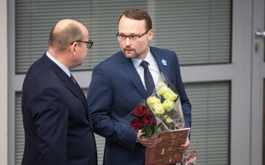 """Ministras Kvietkauskas – darbštus, bet greit """"užsidegantis"""" oratorius"""