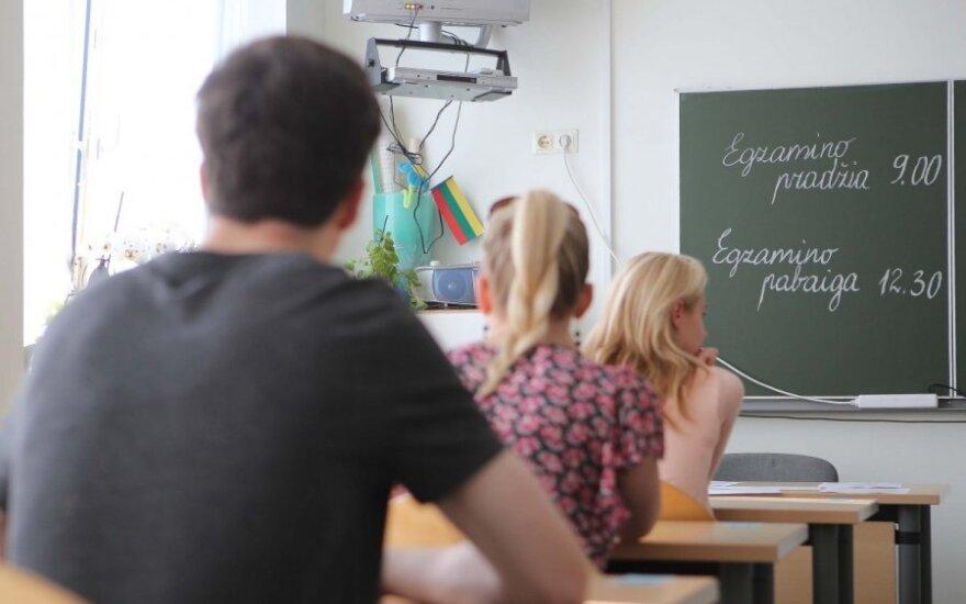 Anglų kalbos mokytoja ekspertė: kaip gali mokiniai teisingai atlikti užduotis, jei nesuspėja jų perskaityti?