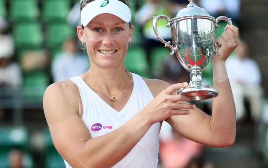Samatha Stosur laimėjo turnyrą Japonijoje