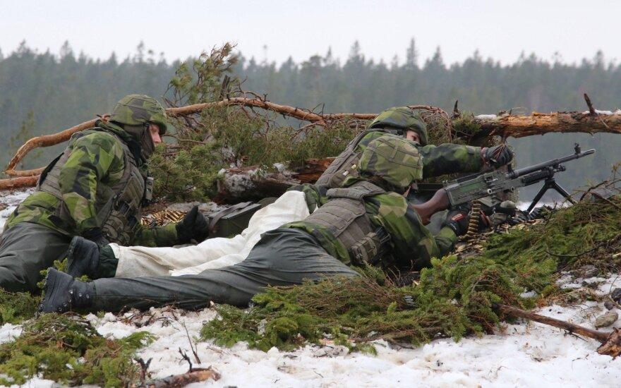 Švedijos kariai Gotlande