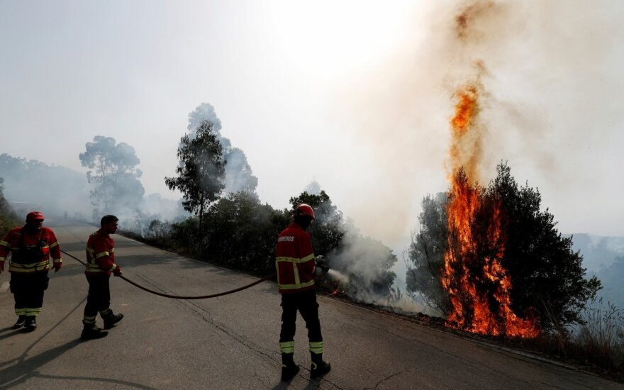 Portugalijoje dėl 2017-ųjų gaisrų bus teisiami 12 žmonių